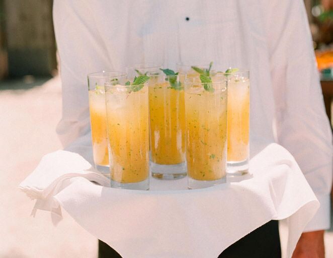 wedding reception cocktail ideas