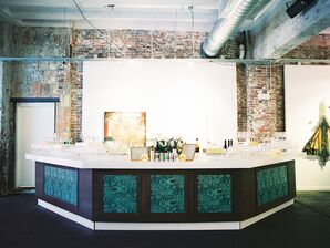 Bar Wrapped in Malachite Print