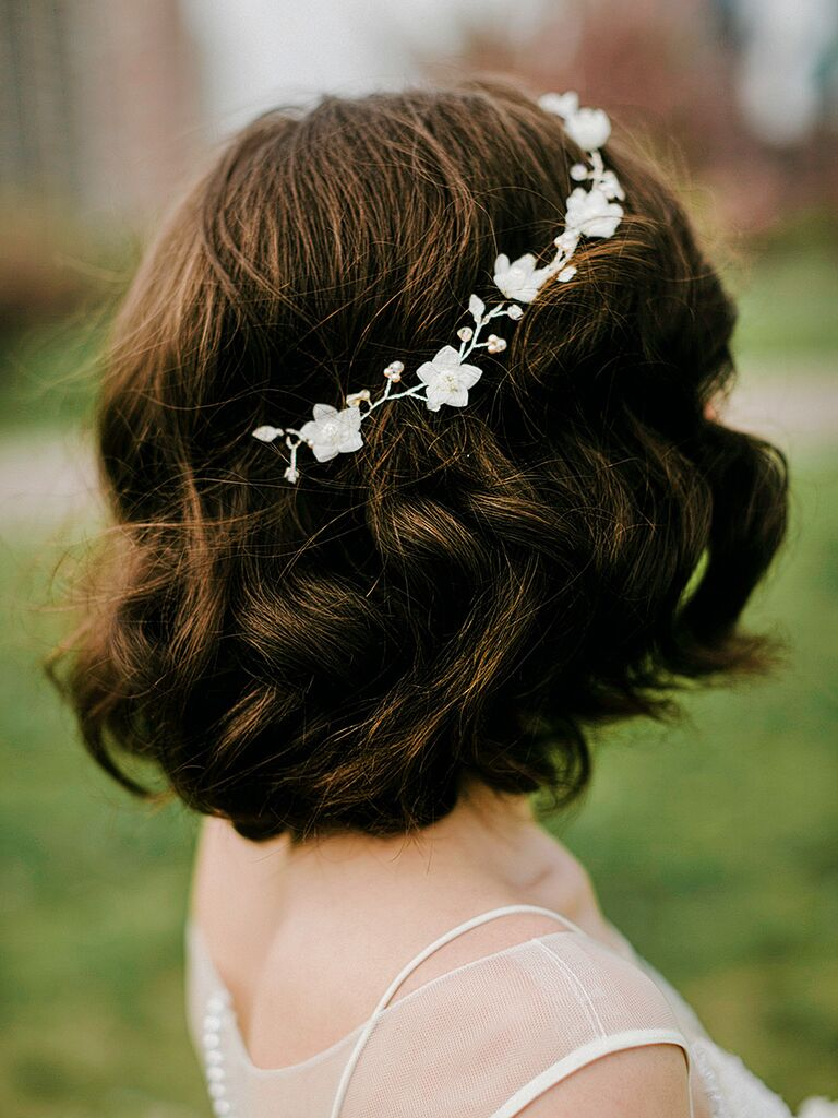 10 Wedding Hairstyles for Short Hair