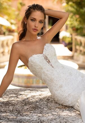 Moonlight Couture H1426 Mermaid Wedding Dress