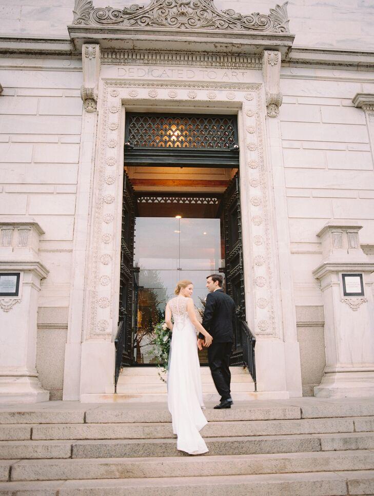 Wedding Reception at Corcoran Gallery of Art