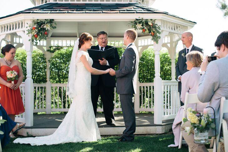 Romantic Pavilion Ceremony Backdrop