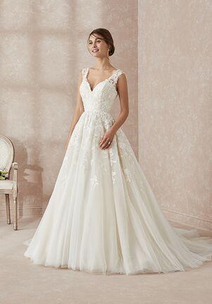 Adrianna Papell Platinum 31159 Ball Gown Wedding Dress