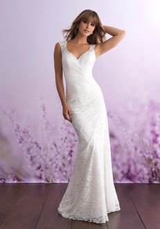 Allure Romance 3104 Sheath Wedding Dress