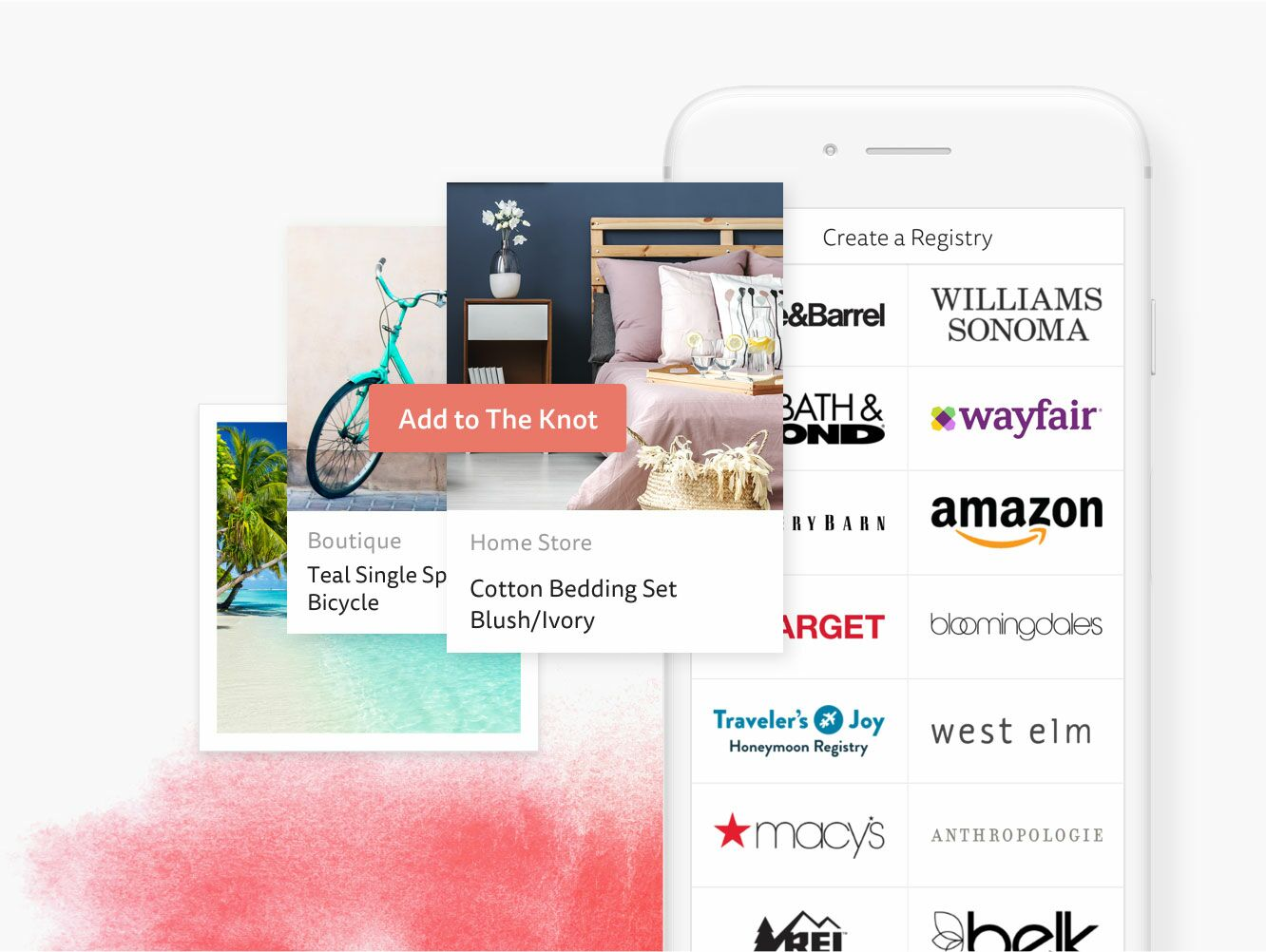 Build Your Wedding Registry by The Knot App
