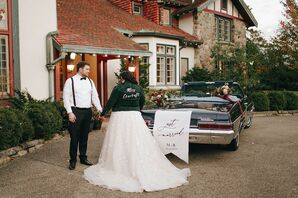 Wedding Portraits at The Beverly Mansion in Marengo, Ohio