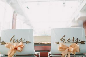 His and Hers Sweetheart Table Signs