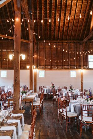 Barn Rehearsal Dinner with Chiavari Chairs