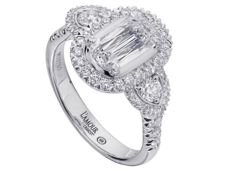 Christopher Designs accents engagement ring