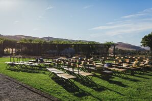 Outdoor Wedding Ceremony at Viansa Vineyard
