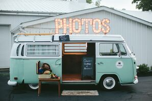 Vintage VW Bus Photo Booth