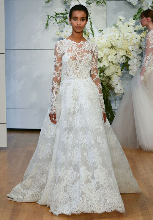 Monique Lhuillier Sistine Wedding Dress - The Knot