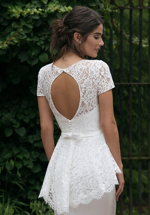 Sincerity Bridal 44040 Sheath Wedding Dress