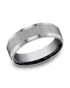 Benchmark CF67417GTA Tantalum Wedding Ring