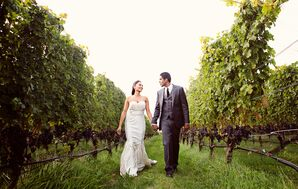 Bride, Groom Outdoor Farm Photo