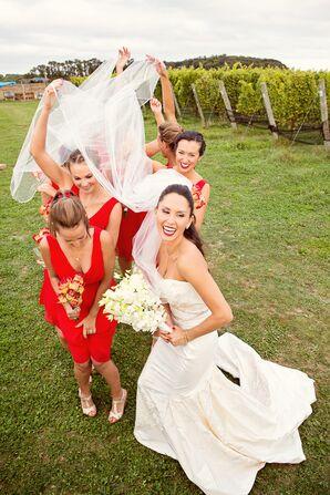 Douglas Hannant Strapless Wedding Dress