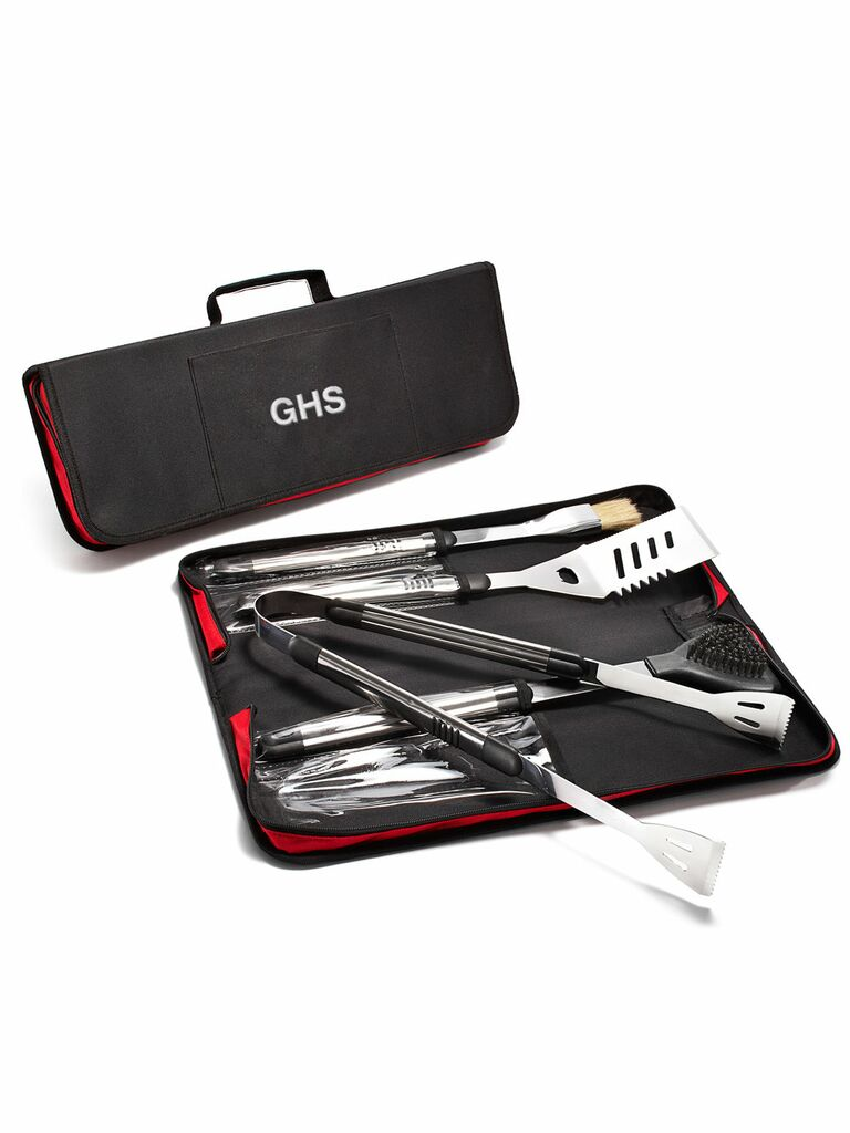 Personalized grill set cute Valentine's Day gift for him