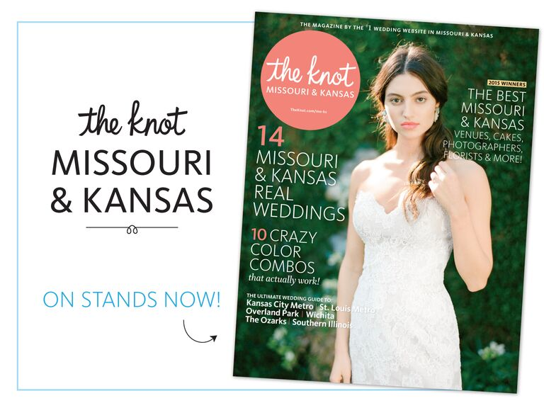 d46ac085b494 The Knot Missouri and Kansas fall and winter 2015 issue on newsstands now