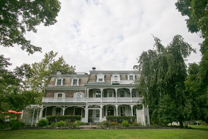 The first overnight trip Dawnyelle and Barry took as a couple was to Woolverton Inn in Stockton, New Jersey. The 10-acre country estate features a quaint inn with porches and sprawling lawns.