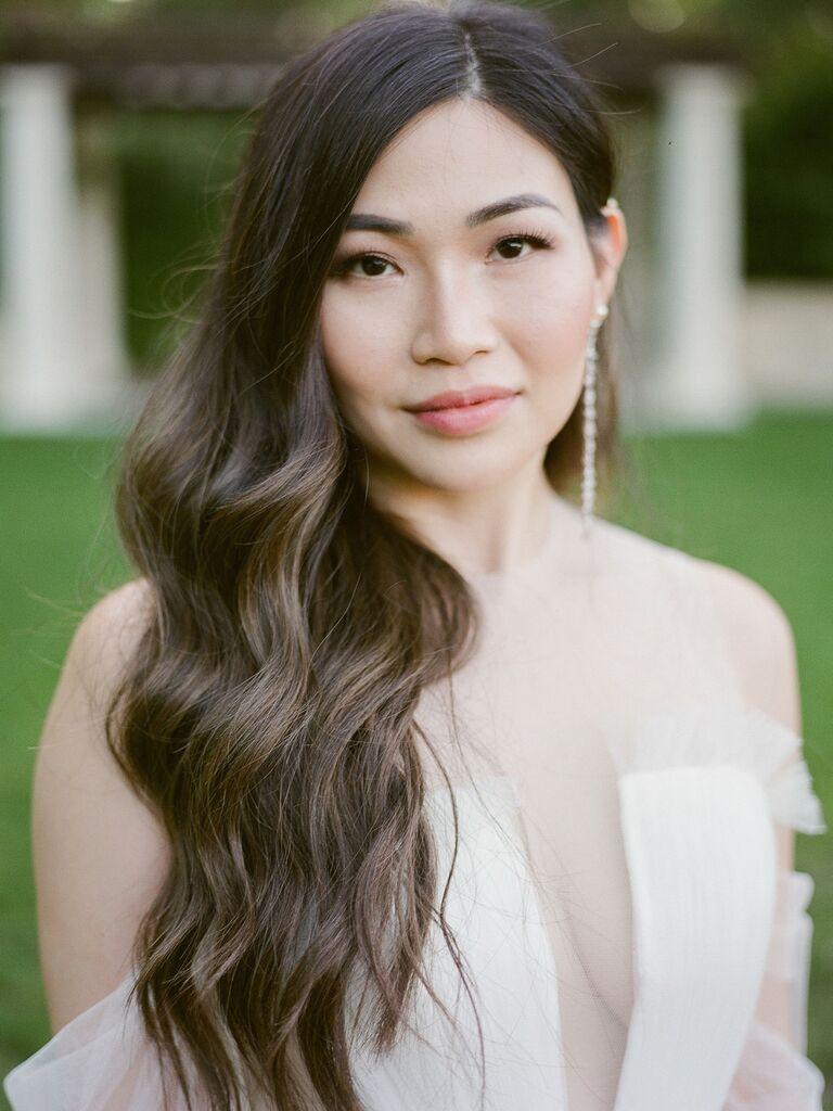 wedding makeup rose gold eyeshadow