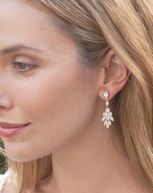 Dareth Colburn Elizabeth CZ Earrings (JE-4150) Wedding Earrings photo