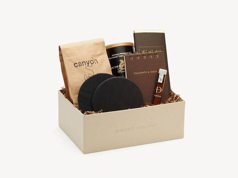 Fancy groomsmen gift box