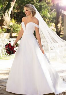 Essense of Australia D2761 Ball Gown Wedding Dress