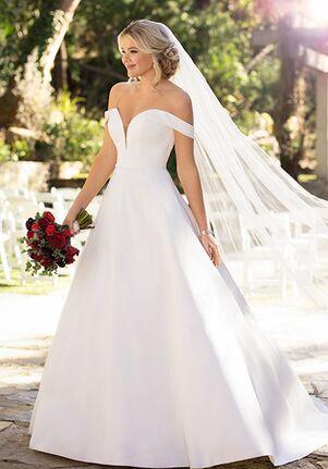 Essense of Australia D2761 Ball Gown Wedding Dress