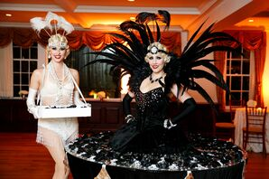 1920s Flapper-Inspired Reception Entertainment