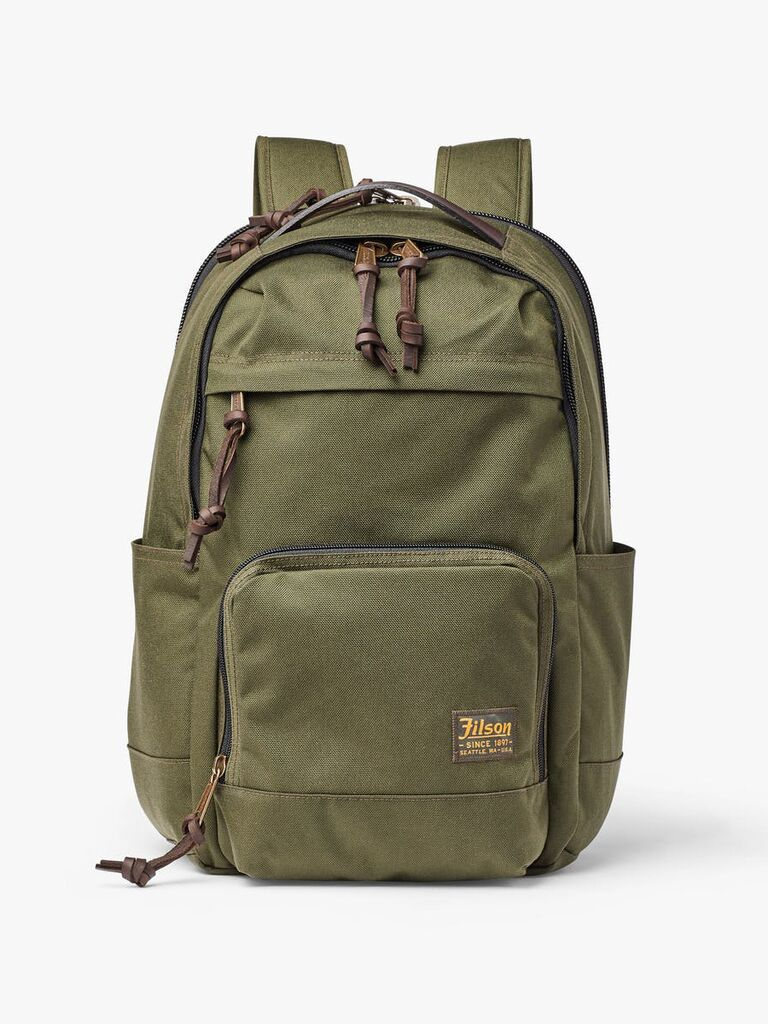 Filson backpack six-year anniversary gift