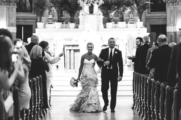 Leanne Marshall Wedding Dress With Ruffles