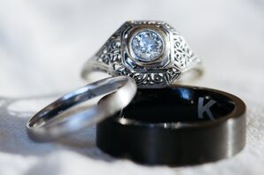 Vintage Heirloom Engagement Ring
