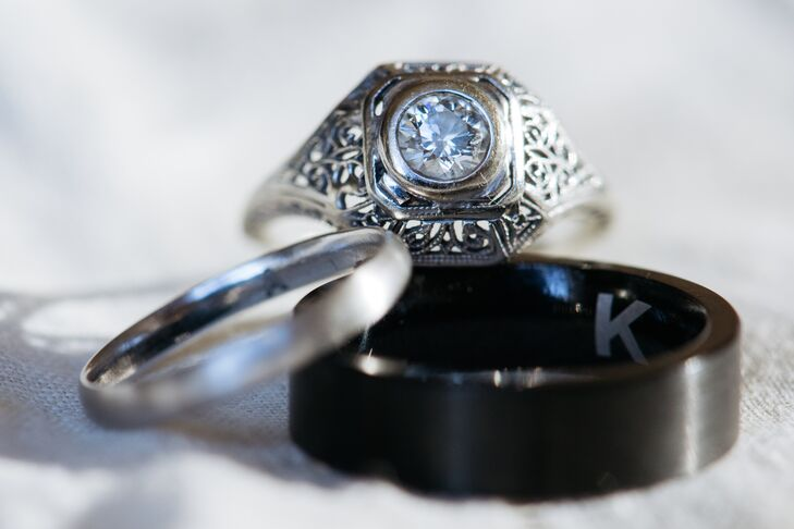 Vintage Heirloom Engagement Ring