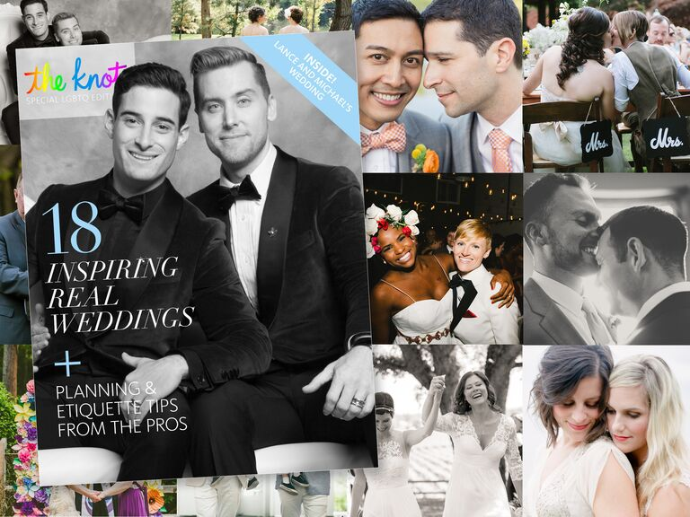 6060c18fe60729 Get The Knot Special LGBTQ Edition Digital Magazine Now!