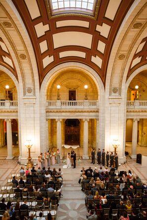 Elegant Ballroom Wedding Ceremony Venue