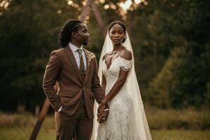 Sunset Couple Portraits in Durham, North Carolina