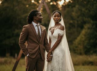 """Kenya and Wesley first met """"in a coffee shop on the busy streets of New York City...Harlem to be exact. While at the coffee shop, Kenya busied herself"""