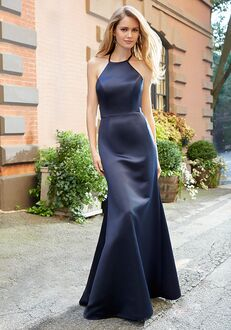 Hayley Paige Occasions 5811 Halter Bridesmaid Dress