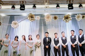 Modern Asian Wedding Party