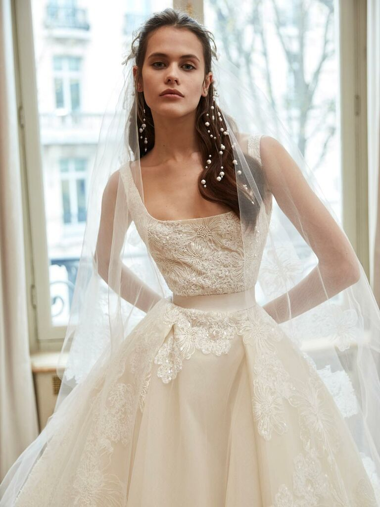 Elie Saab Spring 2019 Collection: Bridal Fashion Week Photos