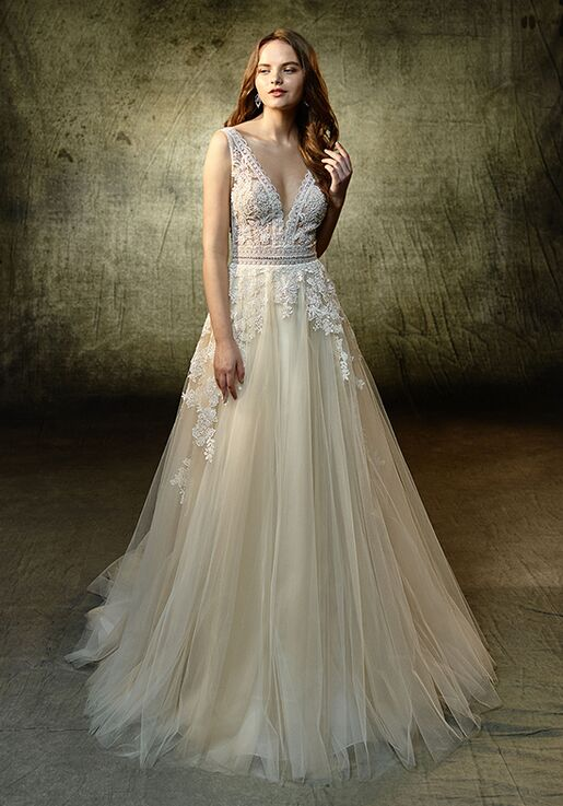 Blue By Enzoani Lavender Wedding Dress The Knot