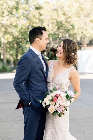 Couple Portraits at Wente Winery Wedding