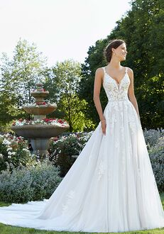 Morilee by Madeline Gardner/Blu Sparrow 5805 A-Line Wedding Dress