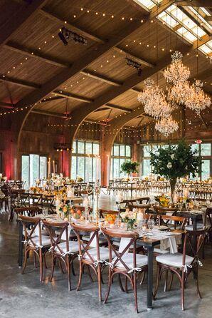 Cedar Lakes Estate Provencal Glam Reception