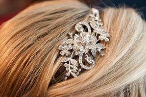 Silver Jewel Headband