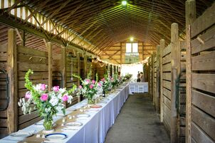 Wedding reception venues in louisville ky the knot the polo barn at saxony farm junglespirit Images