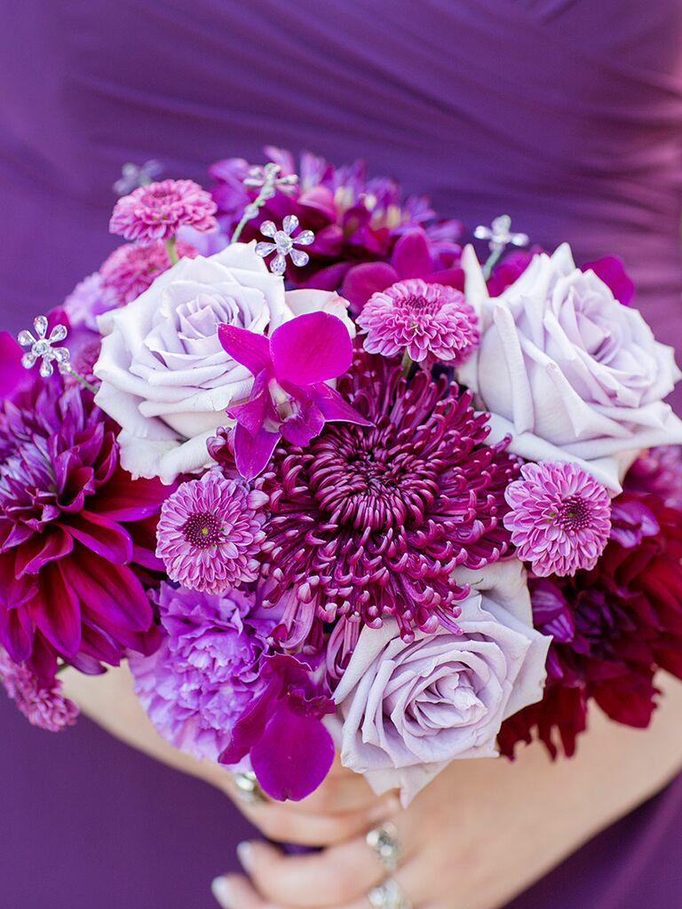 16 Purple Bouquet Ideas And The Flower Names Too