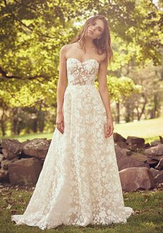 Lillian West 66067 A-Line Wedding Dress