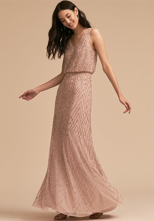 BHLDN (Mother of the Bride) Blaise Dress Pink Mother Of The Bride Dress