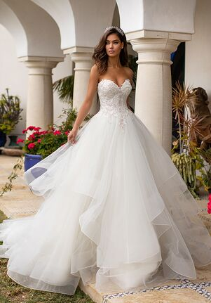 Moonlight Couture H1393 Ball Gown Wedding Dress